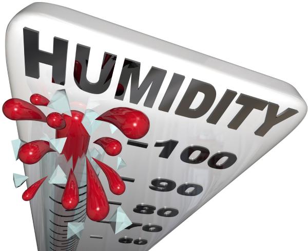 High Humidity in Fargo, North Dakota